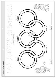 Actividades Olimpiadas niños Pipo #niños #Pipo #colorear #Olimpiadas