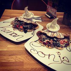 "@paulasonntag's photo: ""#yogissimo #Waffeln #oreo #nutella #strawberry #hazelnut #coconut #frozen #frozenyogurt #chocolate #chocoflash #yummy"""