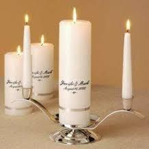 ivory unity candle set - Google Search