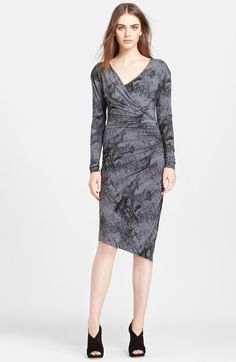 Tracy Reese Ruched Jersey Dress available at #Nordstrom