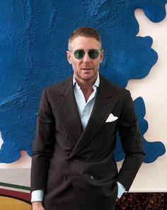 The Gentleman's Guide to Casual Fridays Mens Fashion Blog, Fashion Advice, Men's Fashion, Lapo Elkann, Italian Outfits, Best Dressed Man, Modern Gentleman, Dapper Men, Business Casual Outfits