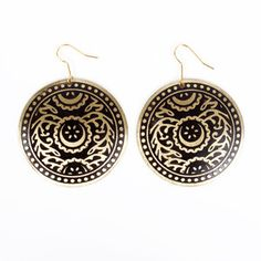 Oriental Inspired Earrings now featured on Fab.