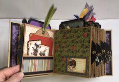 Graphic 45 Alice in Wonderland Square Tag & Pocket Minibook 4 of 6
