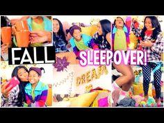 DIY Fall Treats, Outfit + Tumblr Decor, Fall Sleepover Activities+MORE! - YouTube