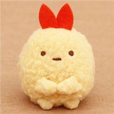 Yellow Mini Sumikkogurashi Shrimp Tempura Plush Toy $7.14 http://thingsfromjapan.net/yellow-mini-sumikkogurashi-shrimp-tempura-plush-toy/ #sumikko gurashi plush #san x product #kawaii plush