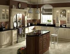 Elegant Cream and Mira Cosa from Kitchens Direct NI's Choose Style range