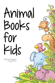 This list of animal books for kids is the perfect place to read about animals! Whether you're looking for nonfiction animal fact books, books with pictures of real animals, or animal storybooks that are perfect for a read-aloud at circle time, we've got you covered! Jungle Theme Activities, Literacy Activities, Preschool Writing, Preschool Teachers, Animal Facts For Kids, Animal Books, Toddler Books, Chapter Books, Kids Songs