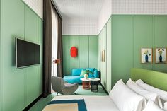 A Love Letter To Memphis: The Room Mate Hotel Giulia by Patricia Urquiola - Indesignlive   Daily Connection to Architecture and DesignIndesignlive   Daily Connection to Architecture and Design