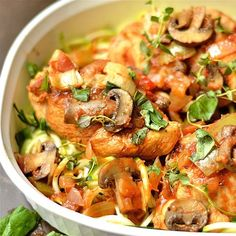 Close up of my NEW Chicken Cacciatore recipe that is made in the Instant Pot or Slow Cooker! And just an FYI, I make most of my dinners that I'm photographing in the morning (better light). I made it in the Instant Pot and it sat on the counter all day kept at warm. It was ridiculously delicious by dinner time!! All those herbs and spices melded together perfectly. Soooo, quick dinner tip? Make before heading out for a busy day and let it sit to thicken and get even more tasty 😋😋. Recipe…