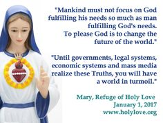 #NewYear 2017 message from #OurLady