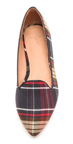 Joie Day Dreaming Plaid Loafers |SHOPBOP | Save up to 30% Use Code BIGEVENT14