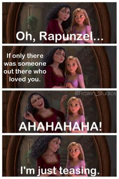 *gasp* maybe she is related to Hans!! That would mean: Rapunzel, Anna and Elsa are cousins. Hans tried to kill both Elsa and Anna and Rapunzel was raised by Hans mother!