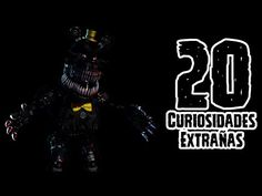 TOP 20: 20 Curiosidades Extrañas De Nightmare Bonnie De Five Nights At Freddy's 4   FNAF 4 - YouTube