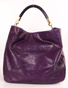 Yves Saint Laurent Roady in Eggplant I absolutely adore the rich dark purple color.