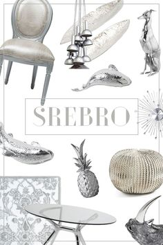 Mood board | details | decorations | home | silver