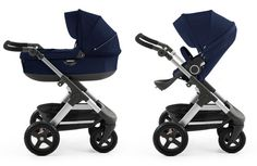 Stokke Trailz in deep blue <3