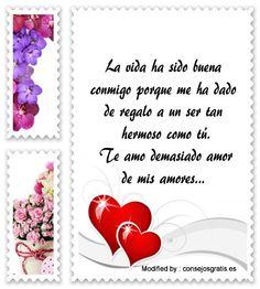 buscar imàgenes con poemas de amor para mi esposa,buscar imàgenes con dedicatorias de amor para mi esposa: http://www.consejosgratis.es/frases-para-el-hombre-de-mi-vida/