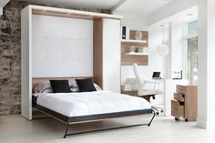Visit our online store to purchase Limuro products. Spare Bedroom Office, Spare Room, Style Loft, Loft Studio, Build A Closet, Flex Room, Home Organisation, Bed Wall, Funky Furniture