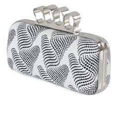 Fashionable PU Handbag With Nice Wave Pattern