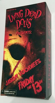LDD Living Dead Dolls Friday the 13th Jason  Voorhees Mezco Toyz