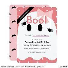 halloween invitation card pink – Google-haku Halloween 1st Birthdays, Fall 1st Birthdays, Halloween First Birthday, Halloween Birthday Invitations, Pink Halloween, Baby Girl Halloween, Baby Girl First Birthday, Pink Birthday, Halloween Ghosts