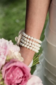 Something New!  A specially selected piece of bridal jewelry, such as a bracelet or necklace, can be purchased at a moderate price, adding beauty and sparkle to the bride's attire. And remember, something that is new to you can later be passed on to another bride as her something old or something borrowed!  Content courtesy of Juliette Weddings, LLC.
