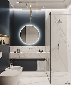 Discover recipes, home ideas, style inspiration and other ideas to try. Washroom Design, Bathroom Design Luxury, Modern Bathroom Design, Home Interior Design, Modern Luxury Bathroom, Minimalist Bathroom, Bad Inspiration, Bathroom Inspiration, Small Bathroom
