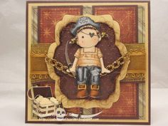Magnolia Pirate Tilda Card by cabiotse - Cards and Paper Crafts at Splitcoaststampers