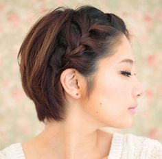 20 Easy Updos To Style Your Short Hair - The Singapore Women's Weekly Formal Hairstyles For Short Hair, Very Short Haircuts, Short Haircut Styles, Short Hair Updo, Down Hairstyles, Easy Hairstyles, Updo Hairstyle, Hairstyle Ideas, Long Hair