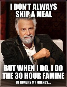 For more information on 30 Hour Famine go to www.famine.ca :-)