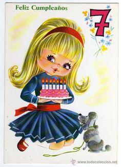 Happy Birthday - 7 year old girl