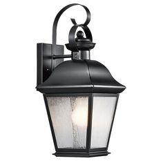 Kichler Lighting Mount Vernon Collection 1-light Outdoor Wall Lantern