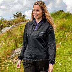 Packable, lightweight jacket. A great product!
