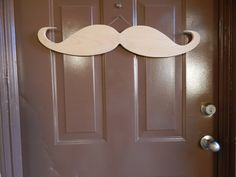 Wood Mustache Wooden Moustache Mustache Decor by StacheMeIfYouCan, $25.00