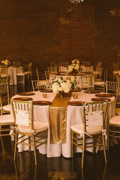 Image Result For Round Table With Sequin Runners Wedding
