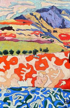 Original Landscape Painting by Claire Denarie-soffietti Africa Painting, Original Art, Original Paintings, Fauvism, Acrylic Material, Impressionism Art, Canvas Art, Canvas Size, Fine Art Paper