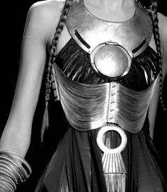 metal breast plate