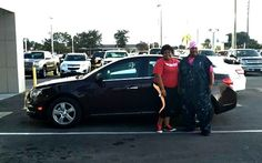 Courtney Smith received a wonderful birthday present from her mom, Natasha Smith. Courtney and Natasha are pictured below with Courtney's gift, this 2015 Chevrolet Cruze! Happy Birthday Courtney and enjoy your new car! Natalie Nishida was the Sales Consultant who assisted them with their vehicle selection.