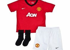Nike Manchester United Home Kit 2013/14 - Infants Manchester United Home Kit 2013/14 - Infants THREE-PIECE SET WITH GAME-DAY STYLE. Is your little one the next United superstar? Give them a head start with the Nike 2013/14 Manchester United Replica I http://www.comparestoreprices.co.uk/sportswear/nike-manchester-united-home-kit-2013-14--infants.asp