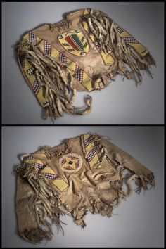 Full Image and Description Native American Shirts, Native American Crafts, Native American Artifacts, Native American Beadwork, Native American Indians, Native Americans, American Paint, American War, Cree Indians