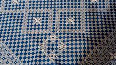 Toalha de mesa: ponto cruz duplo - 3