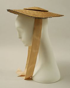 Bergère hat Date: 18th century Culture: British Medium: straw Dimensions: [no dimensions available] Credit Line: Purchase, Irene Lewisohn Bequest, 1969 Accession Number: C.I.69.15.1