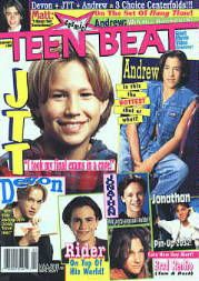 Little pre-teen gossip nostalgia, anyone?  I believe I had this one...Brad Renfro was my dude...RIP, Brad!