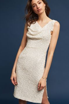 Slide View: 2: Sequined Sheath Dress