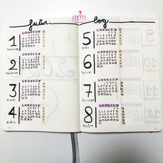Bullet Journal A6, Planning Annuel, Bujo, Woman, Business, Yearly Calendar, Bullet Journal, Marker, Women