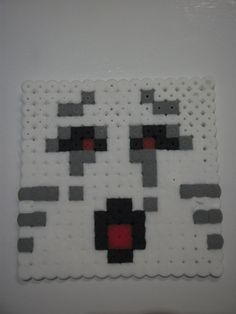 Minecraft Ghast - Hama Beads