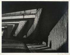 Lee Miller  -  Walkway, Paris, ca. 1929; gelatin silver print.