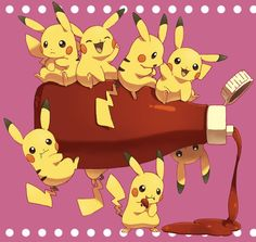 Pikachu ^.^ ♡ Kudos to whoever made this fan art