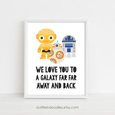 C3PO Star Wars Droid - Magazine Strip Art Print
