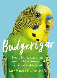 INV 598.07 HAR A curiosity of everything you ever wanted to know (or realised you never knew) about budgies Beautiful and cheeky, delightful and enchanting, wild or tamed budgerigars are Australia's gift to the bird world. Surprising, charming and occasionally alarming, Budgerigar is the book that at last opens the cage door on the incredible story of the little bird that grew.